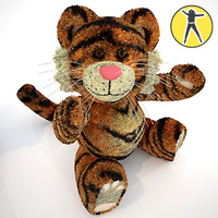 Tiger plush toy
